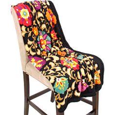soft + colorful throw blanket #methodholidayhappy
