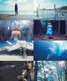 Scenes from Out of the Woods! Song: Out of the woods. Singer: Taylor Swift