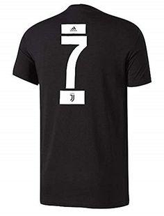 adidas Cristiano Ronaldo Juventus Men s Player T-Shirt  CR7  Juventus   FootballFans 9c52965d9