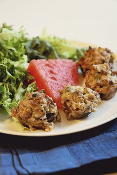 Simply Gourmet: Sausage Stuffed Mushrooms