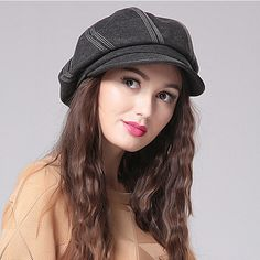 Fashion beret hat for women leisure autumn winter hats