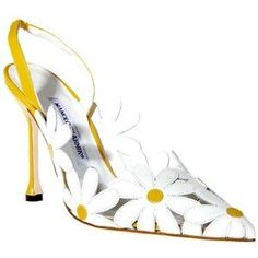 daisy leather manolo blahnik