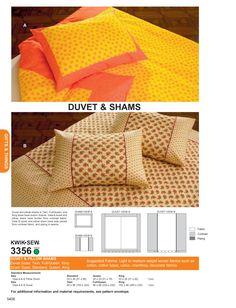 Schnittmuster für Bettwäsche (kostenpflichtig)