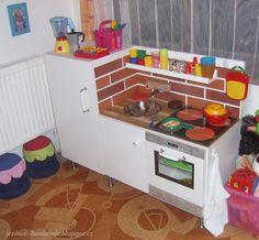 Kuchyňka pro malou hospodyni