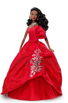2012 Holiday Barbie Doll African American