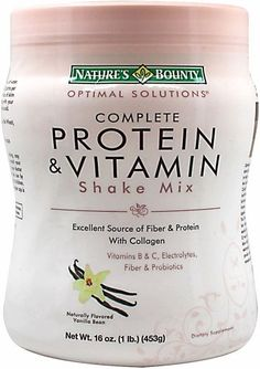 Natures Bounty Solutions Complete Protein Vitamin Shake makes a great alternative to shakeology and at only $17