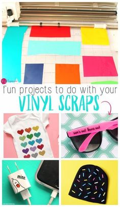 Check out these vinyl scrap ideas!