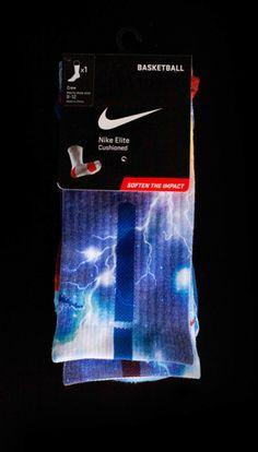 Lightning Nike socks