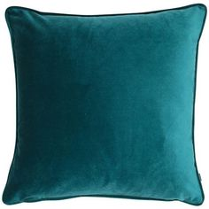 Fairmont Park This Cortinas Cushion has a classic soft matte velvet square cushion with piped-edge detailing. Versatile and easy to coordinate with any of feature cushions. Teal Cushions, Velvet Cushions, Scatter Cushions, Outdoor Cushions, Oversized Throw Pillows, Teal Throw Pillows, Dyi, Teal Throws, Fairmont Park