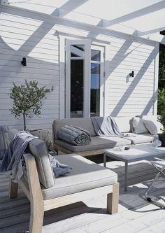 My summer lounge (stil inspiration) outside дача Patio Lounge Furniture, Modern Furniture, Outdoor Furniture, Furniture Ideas, Garden Furniture, Outdoor Rooms, Outdoor Chairs, Outdoor Living, Outdoor Decor