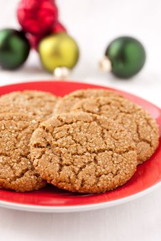 Ginger Cookies - love a good chewy, but still soft ginger cookie