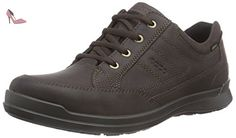Ecco ECCO HOWELL, Derby homme - Marron (ESPRESSO02192), 48 EU - Chaussures ecco (*Partner-Link)
