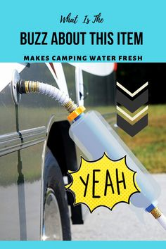 Camco 40045 TastePURE Inline RV Water Filter, Greatly Reduces Bad Taste, Odors, Chlorine and Sediment in Drinking Water Pack) Rv Campers, Camper Van, Rv Water Filter, Camping Water, Class C Rv, Rv Bathroom, Glamping, Airstream Trailers, Rv Interior