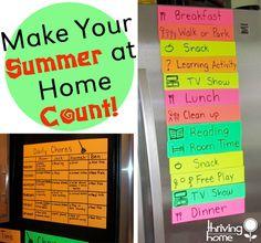 summer at home ideas