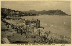 Antigua postal de Donostia.
