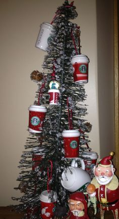 Starbucks Christmas Tree