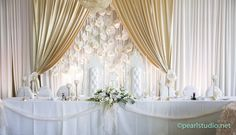 Pure Love! White and Rustic Pink Backdrop