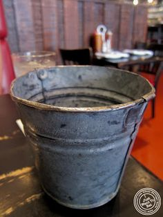 image of bucket at Blue Smoke in NYC, New York