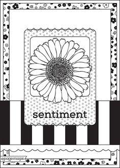 card sketch.... Apr 2014
