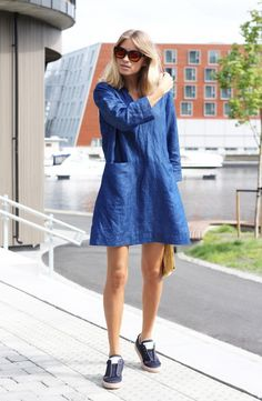 how to wear denim dress - Google Search Denim Shirt Dress 47c9feae0