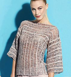 beautiful simple hairpin lace crochet top