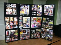 funeral picture display ideas | Event Displays | Organized Pictures Event Displays | Dedicated to ...