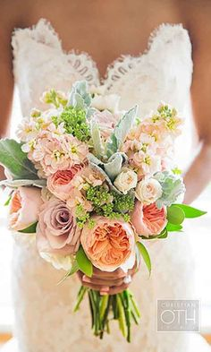24 Gorgeous Summer Wedding Bouquets ❤️ Summer brides a lucky to have the most beautiful flowers in season for their wedding bouquet. See more: http://www.weddingforward.com/gorgeous-summer-wedding-bouquets/ #wedding #bride #weddingbouquet #summerwedding