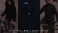 Enter our giveaway on Facebook to win a RADEV shirt: https://goo.gl/B3ClV0. The shirts are 100% handmade by RADEV. Go go go! Good luck! #giveaway #radevdesign #infinitepossibilities #contest