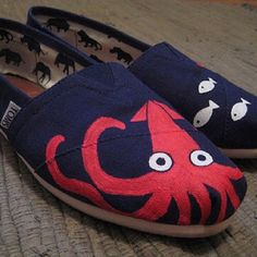 Under the sea // #StyleYourSole #TOMSshoes