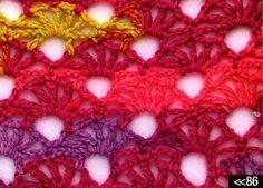 Patrón #979: Punto Calado a Ganchillo   CTejidas [Crochet y Dos Agujas]