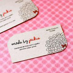 Leaf Die Cut Business Cards