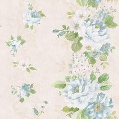 Walls [paisleyavenueredux] Albany Floral Stripe wallpaper