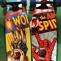 Santa Cruz x Marvel collab!