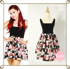 Perfect outfit for every one : Cat Valentine Cute Girl Outfits, Girly Outfits, Stylish Outfits, Dress Outfits, Dresses, Ariana Grande Outfits, Cat Valentine Outfits, School Outfits Tumblr, Tv Show Outfits