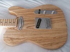 Tele partscaster - neck finishing question