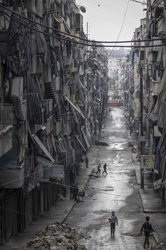 Calle de Alepo, Siria