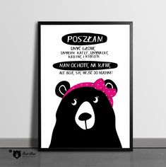Original posters for your home ❤ autor SzastiPrast Motto, Haha, Poems, Positivity, Humor, Motivation, Wall Art, Funny, Quotes