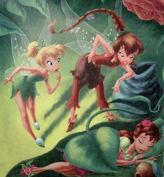 Tinker Bell, Fawn & Rosetta..