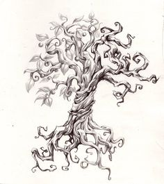 Split Tree Tatoo by joshuapeople on deviantART