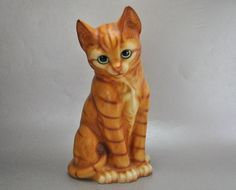 Harvey Knox Large Red Tabby Cat Figurine
