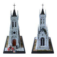 Casa Lego, Notre Dame, Catholic, Building, Photography, Photograph, Buildings, Fotografie, Photoshoot