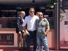 Internazionali Bnl - pizza - Jimmy Ghione - Roma - Rome