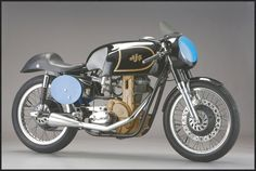 """The AJS was as a racing motorcycle built by Associated Motor Cycles (owners of the AJS & Matchless marques). It was in production from 1948 to Known as the """"Boy Racer"""", the won three successive Junior Isle of Man TT races. Ajs Motorcycles, British Motorcycles, Vintage Motorcycles, Motos Vintage, Vintage Bikes, Vintage Cars, Cafe Bike, Cafe Racer Motorcycle, Classic Motorcycle"""