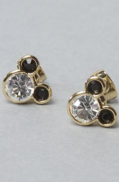 The Minnie x Mawi Gem Earring Stud Set by Disney Couture Jewelry at karmaloop.com