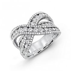 Diamond Band Fashion Rings Fashion Bands Whitegold