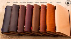 Leather Midori Traveller's Notebook Cover Made to by LeodisLeather