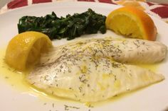 Citrus steamed tilapia