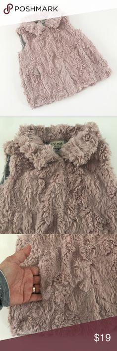 NEXT Brand pink furry vest Very good condition. NEXT is a popular UK brand Jackets & Coats