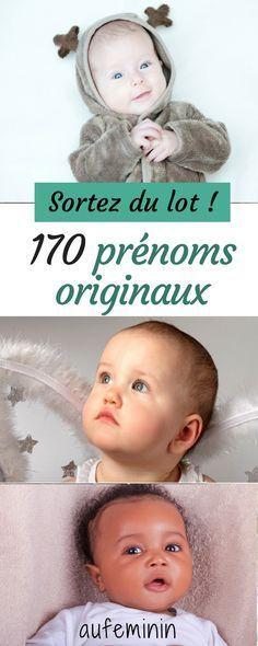 170 prénoms originaux pour un bébé qui sort du lot. Quel prénom original allez-vous choisir ? #prénom #bébé #fille #garçon #original #originaux #aufeminin