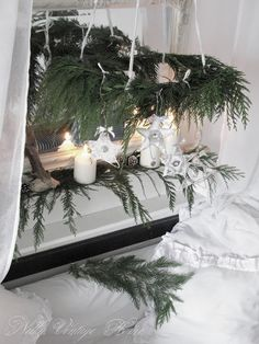 nelly vintage home: Коледни звездички
